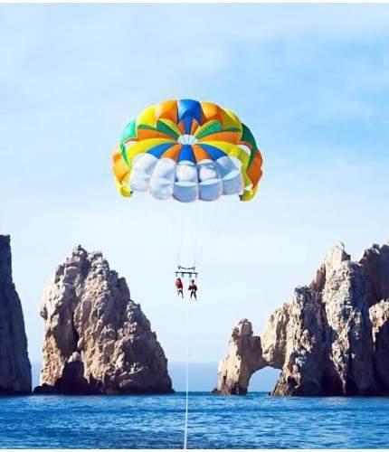 parasailing double los cabos