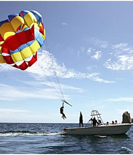 parasailing single los cabos