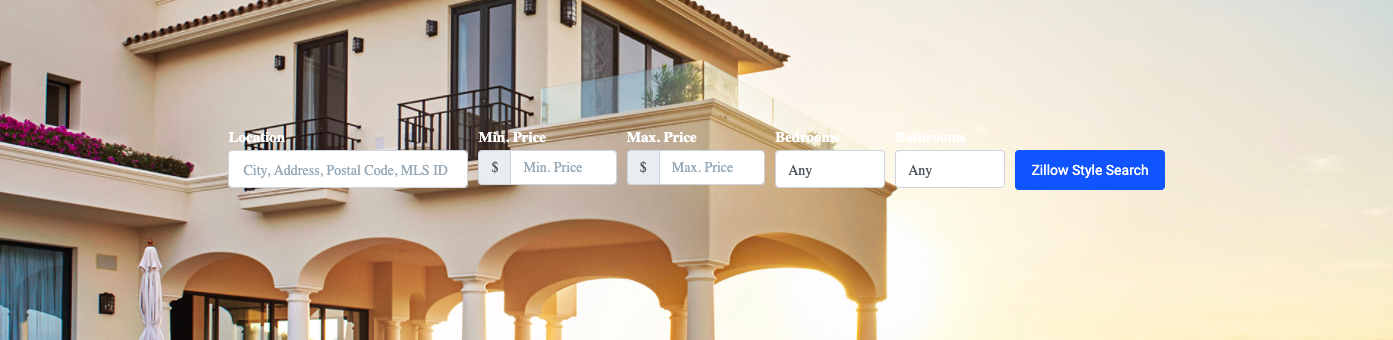 Cabo Zillow Search Experience